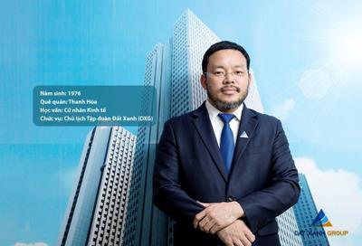 Doanh nhân Lương Trí Thìn - Chủ tịch HĐQT Đất Xanh Group