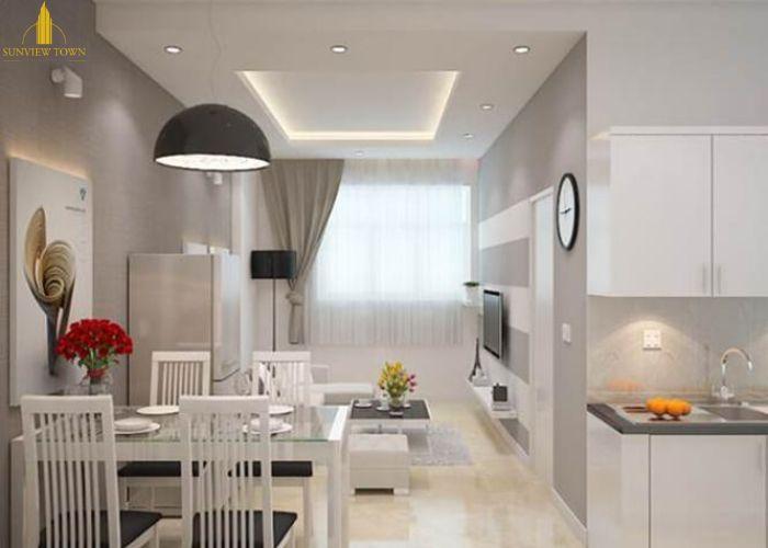 Thiết kế phòng ăn căn hộDự án Sunview Town