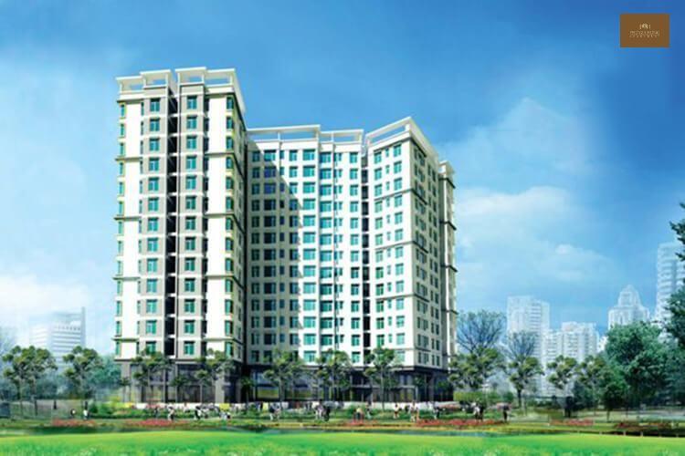 Toàn cảnhdự án căn hộ chung cư Phú Gia Hưng Apartment