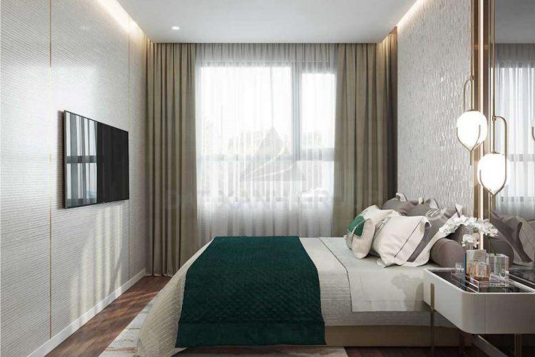 Thiết kế phòng ngủ căn hộ Đất Xanh Homes CityView