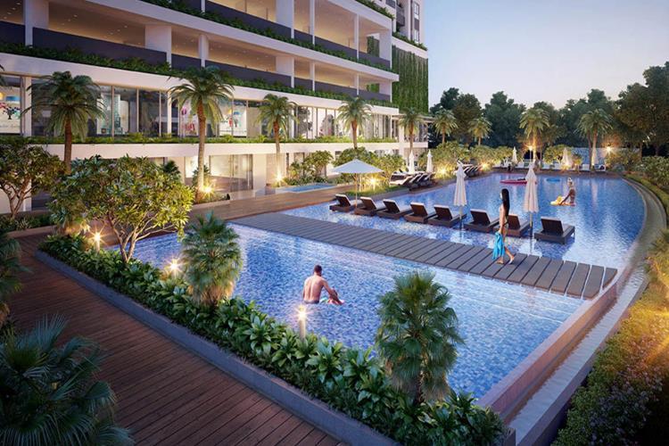 Hồ bơi tại dự án LuxGarden