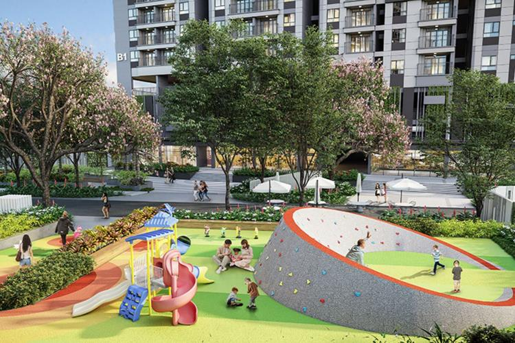 Khu vui chơi trẻ em dự án Opal Boulevard