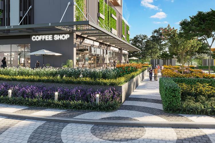 Đường đi bộ của dự án Opal Boulevard